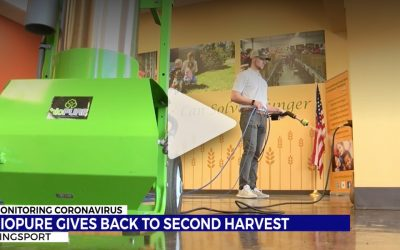 bioPURE helping out Second Harvest Food Bank